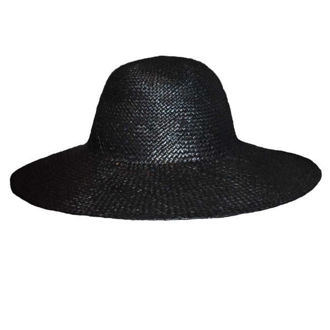 Chapéu palha imp. senhora capelina preta 387c171e61a